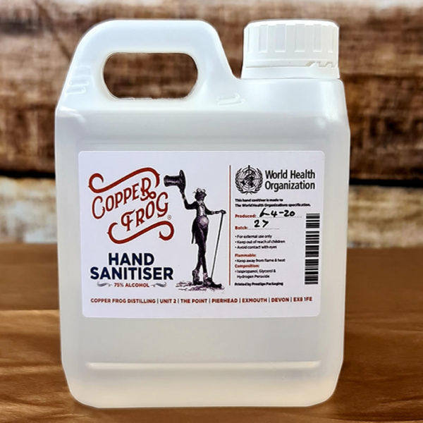 Copper Frog Hand Sanitiser - 1Ltr